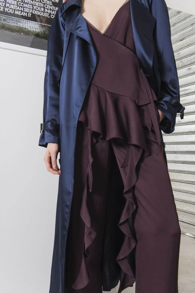 Wavy dress and robe pajama trend Each x Other Pre Fall 2017
