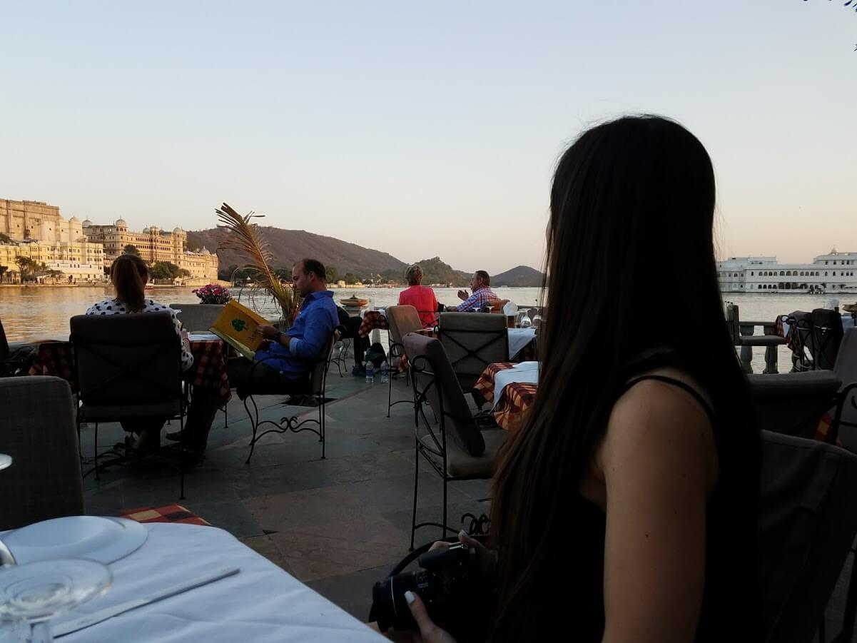 Restaurant Ambrai, the best view ever
