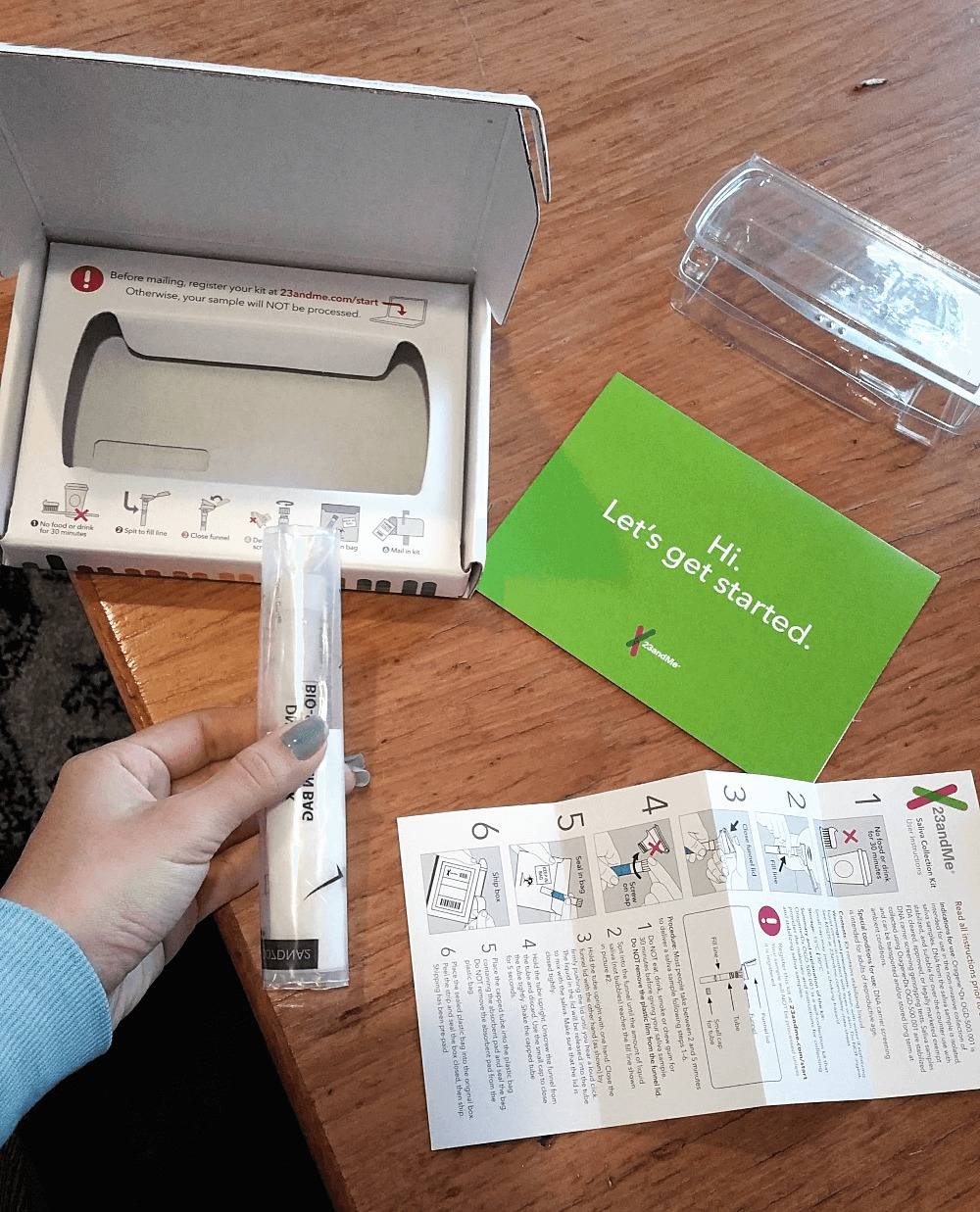 23andme ancestry and health kit