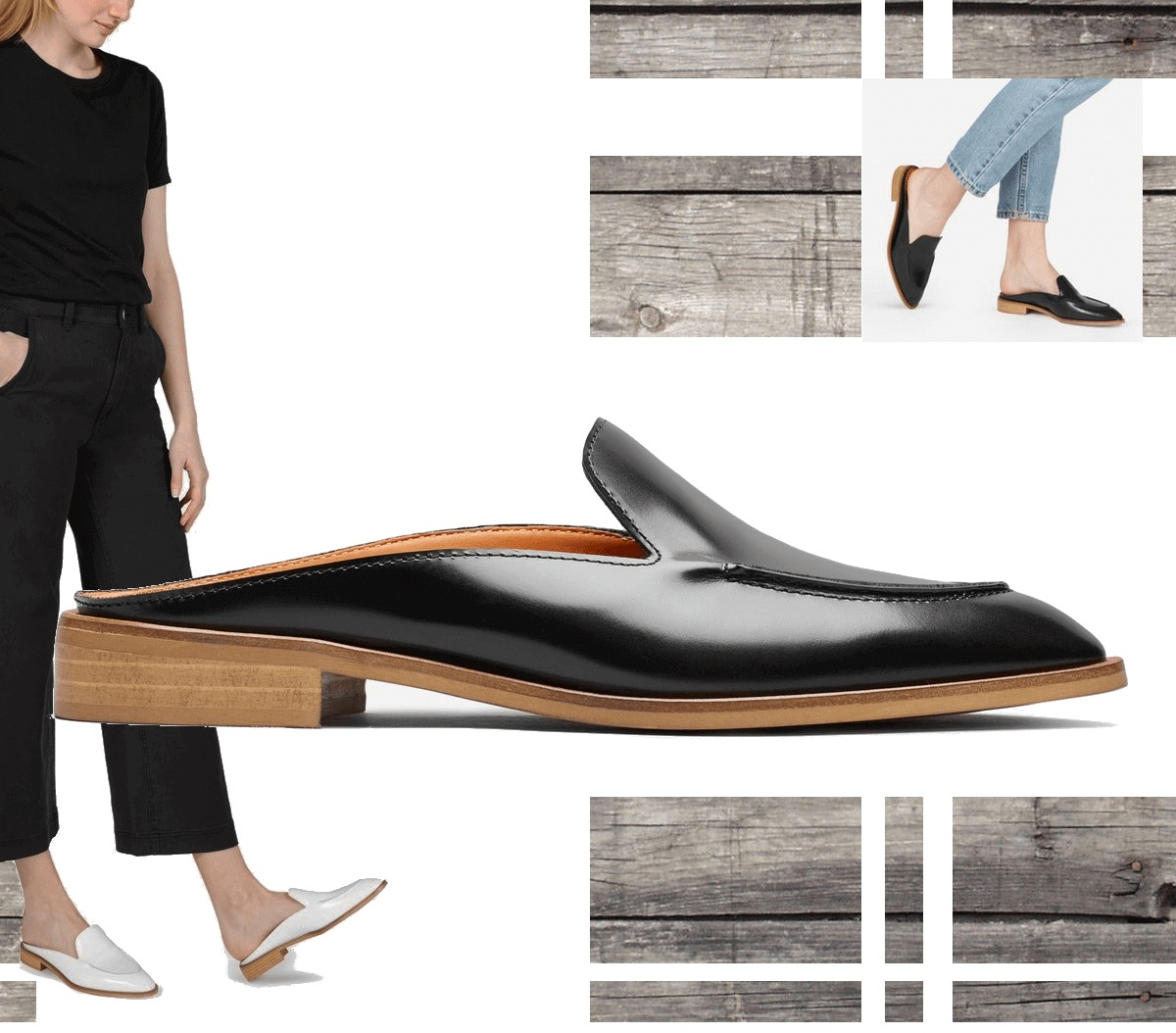 Everlane Modern Loafer Mule