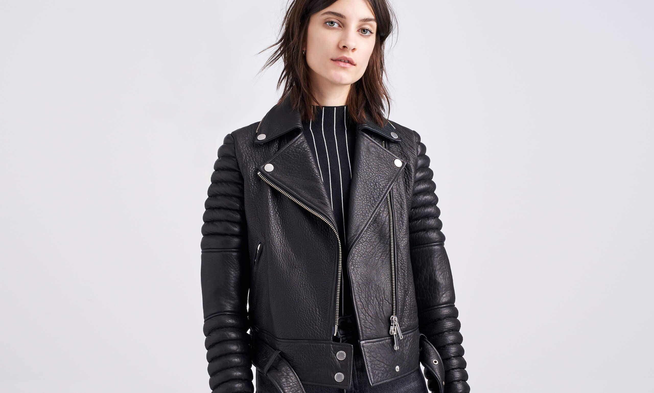 Rainier Leather Jacket