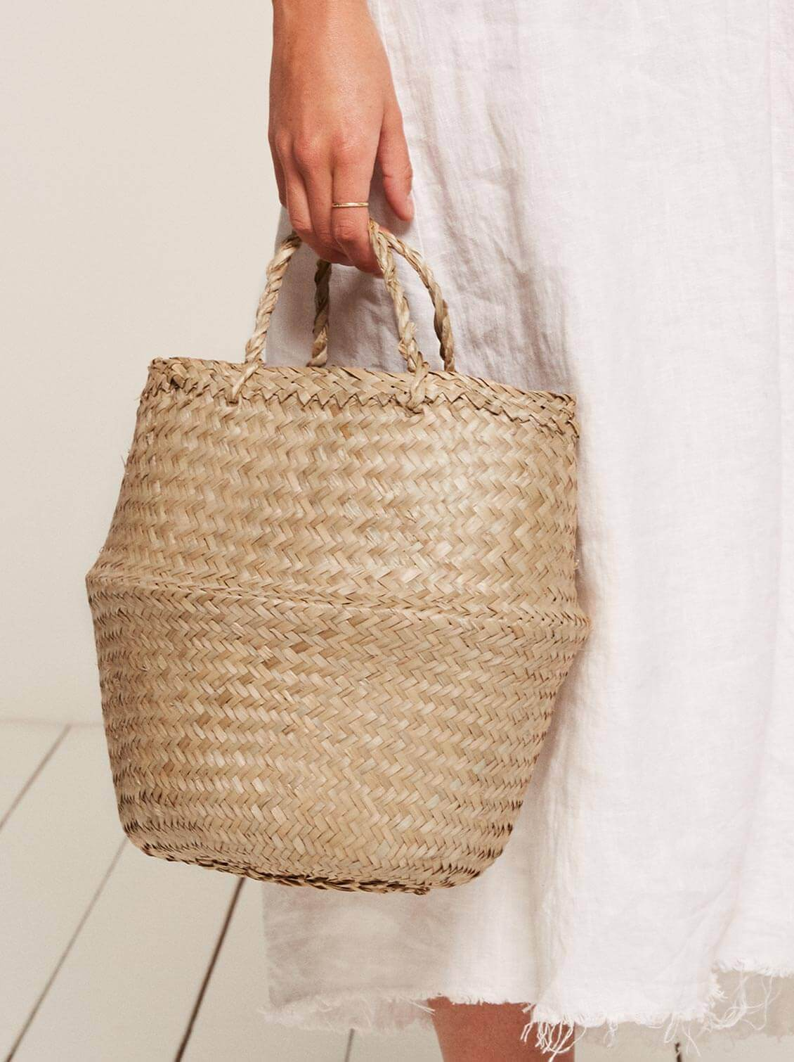 Reformation Large straw bag