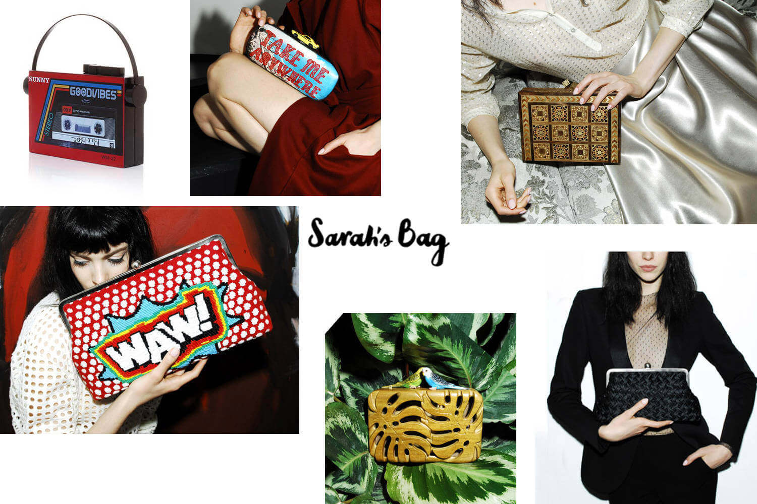 Sarah's Bag Luxury Ethical Fashion Clutches