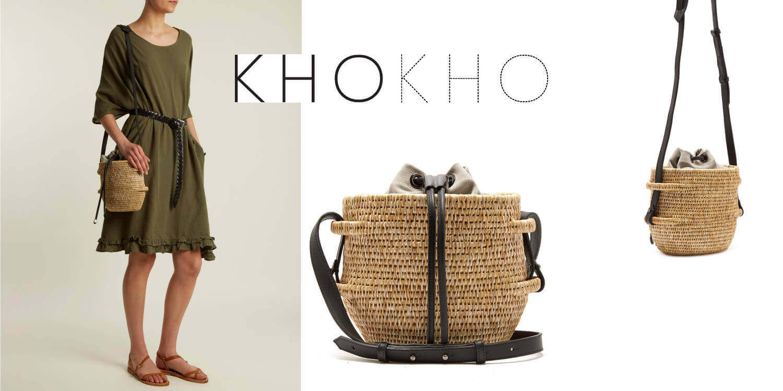 Khokho basket handbags made ethically