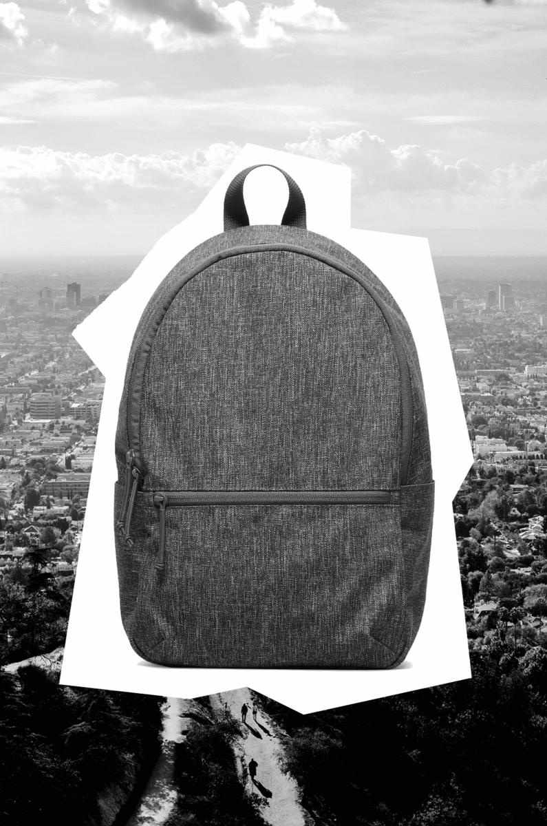 Everlane nylon backpacks made ethically in China, minimal, stylish and affordable