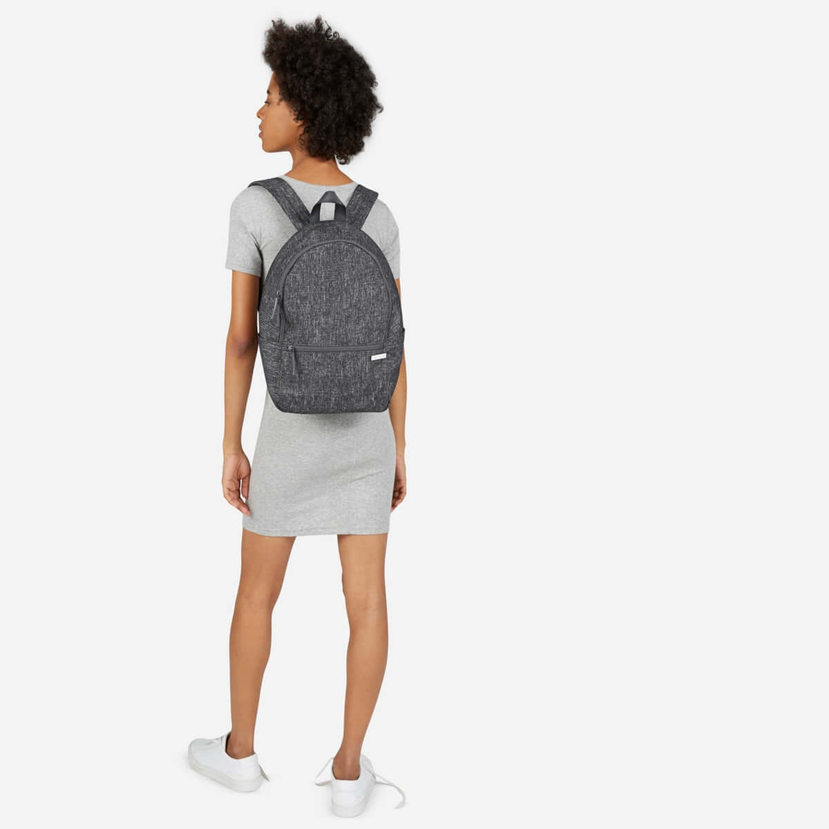 The Street Nylon Zip Backpack - Small – $38. A minimalist, ethical backpack for a price you can't afford to miss