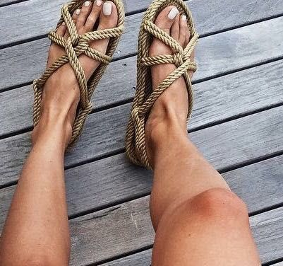 Rope Sandals Trend | Where to Shop Ethically made rope sandals