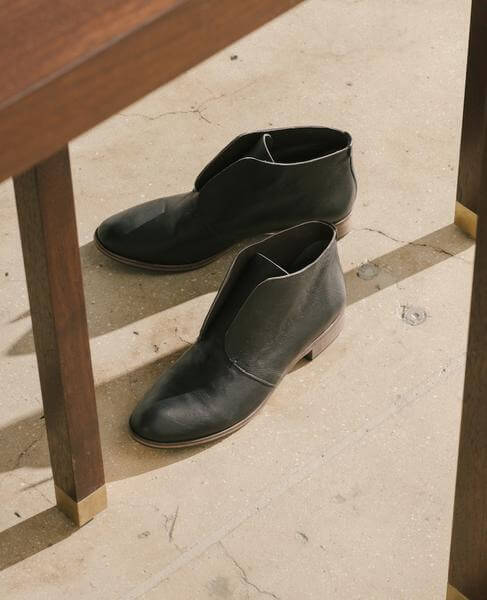 Coclico booties, ethically made