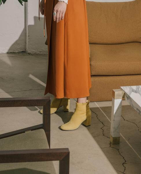 Coclico mustard booties