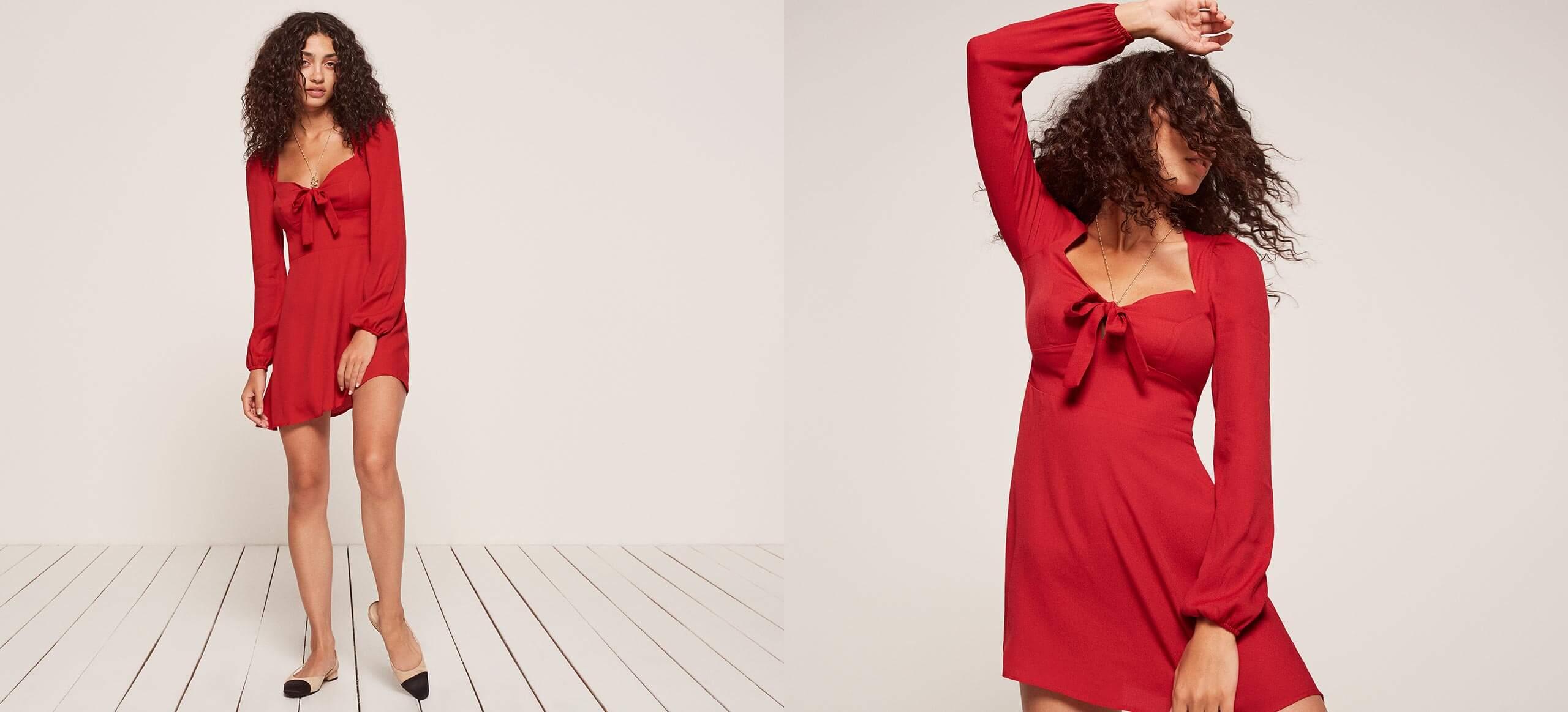 Reformation Petites | Valentine dress
