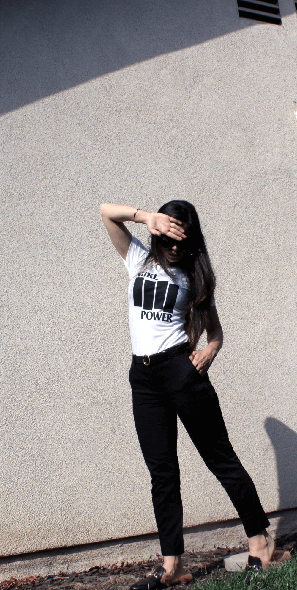 Dolores Haze is a brand of sustainable and ethical fashion made in New York, their Girl Power T-Shirt is made with organic cotton and 10% of the proceeds is donated to Planned Parenthood
