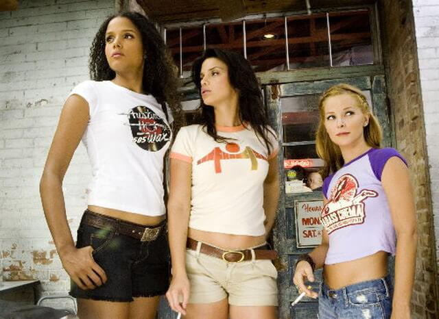 Graphic tees on Death Proof