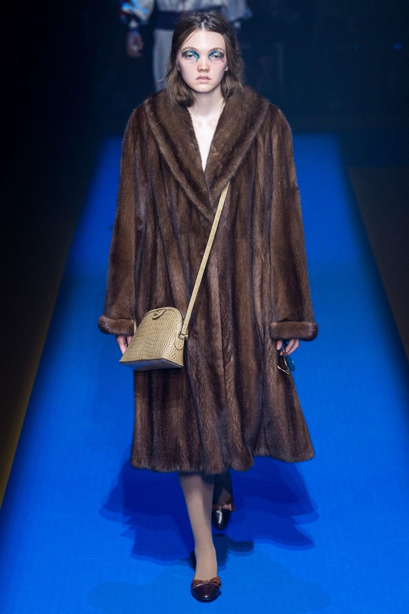 Gucci SS 2018 | First fur-free collection | Photo credit: British Vogue