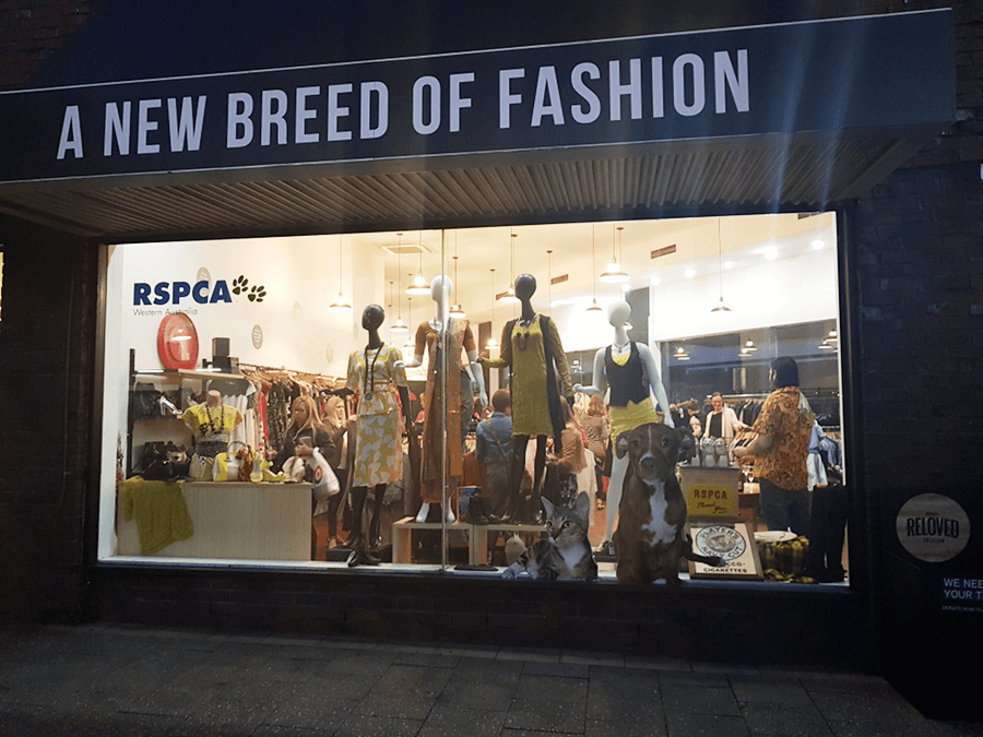 RSPCA Reloved Fashion is one of the Sponsors of Eco Fashion Week Australia
