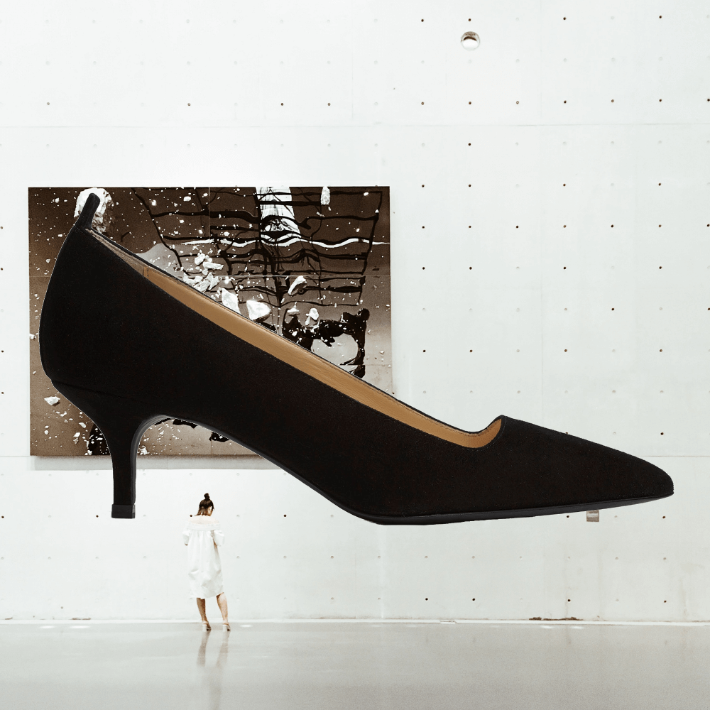 Everlane Editor Heel | Ethically made leather shoes
