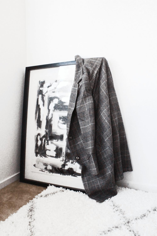 Fall Uniform | Everlane Denim and houndstooth coat