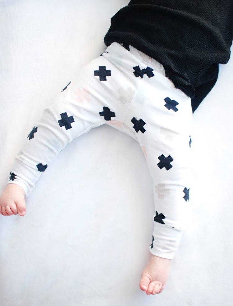 Gender neutral baby leggings