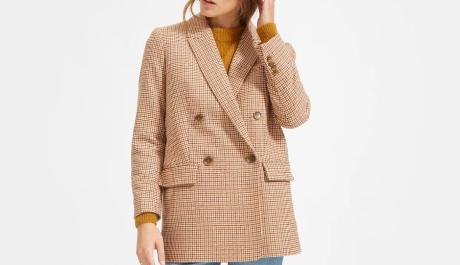 Everlane Double-Breasted Oversized Blazer