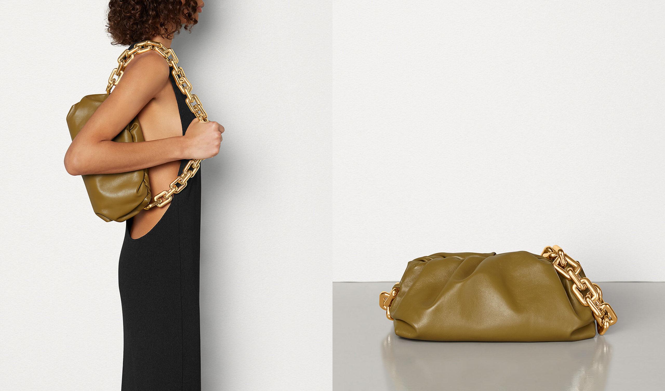 Bottega Veneta chain pouch my least favorite one